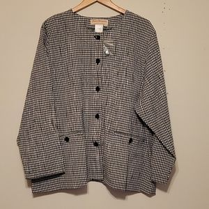 Norm Thompson Button Down Top